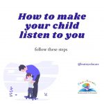How to make your child listen to you