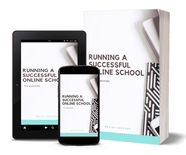 running-a successful online school